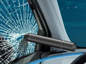 چکش اضطراری خودرو بیسوس Savior Window Breaking Flashlight CRSFH-B01