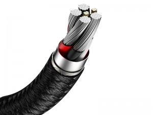 کابل سوپر شارژ تایپ سی بیسوس مدل Cafule Series Metal Data Cable 40W CATJK-A01 به طول 1 متر