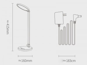 چراغ مطالعه بیسوس مدل Smart Eye Series Eye-Protective Desk Lamp DGHY-02