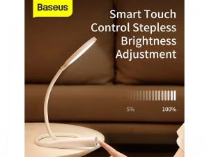 چراغ مطالعه شارژی بیسوس مدل Comfort Reading Hose Desk Lamp DGYR-02