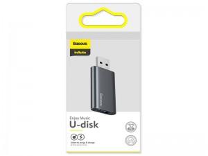فلش مموری و آداپتور شارژ بیسوس Enjoy Music U-Disk 32GB ACUP-B0A ظرفیت 32 گیگابایت