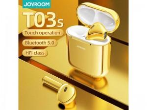 هندزفری بلوتوث جویروم مدل JR-T03S بهمراه کیس شارژ بی سیم