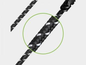 کابل فست شارژ لایتنینگ انرژیا مدل DuraGlitz به طول 3 متر