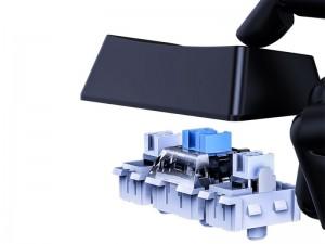 کیبورد مخصوص بازی بیسوس مدل GAMO One-Handed Gaming Keyboard GMGK01-01