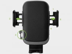 پایه نگهدارنده و شارژر وایرلس سریع انرژیا مدل Wimount sense 2