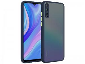 کاور پشت مات دور رنگی مناسب برای گوشی موبایل هوآوی Y8p 2020