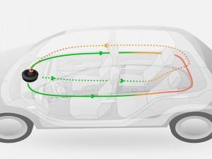 دستگاه تصفیه هوای خودرو شیائومی مدل 70Mai Midrive AC02