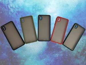 کاور پشت مات دور رنگی مناسب برای گوشی موبایل سامسونگ A01 Core