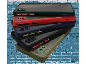 کاور پشت مات دور رنگی مناسب برای گوشی موبایل سامسونگ A02 Core