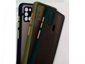 کاور پشت مات دور رنگی مناسب برای گوشی موبایل سامسونگ A21s