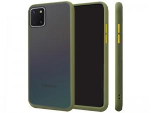 کاور پشت مات دور رنگی مناسب برای گوشی موبایل سامسونگ Note 10 Lite