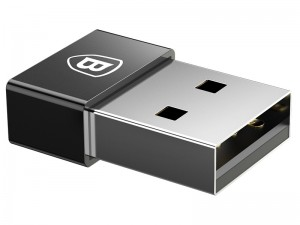 مبدل USB به Type-C بیسوس مدل Exquisite USB Male to Type-C Female Adapter Converter