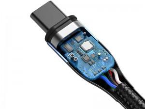 کابل مگنتی دو سر تایپ سی بیسوس مدل CATXC-Q01 100W به طول 1.5 متر