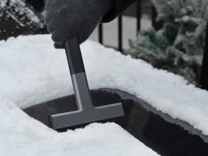 شیشه پاک کن خودرو بیسوس مدل Quick Clean Car Ice Scraper CRQU-01