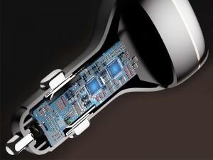 شارژر فندکی فست شارژ 60 وات راک مدل C301