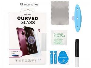 محافظ صفحه نمایش UV مناسب برای گوشی موبایل سامسونگ S21 Plus