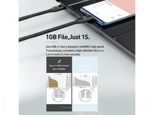 کابل فست شارژ دو سر تایپ سی مک دودو مدل CA-7130 با قابلیت اتصال به TV