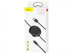 شارژر وایرلس و کابل شارژ آیفون بیسوس مدل IP Cable Wireless Charger WXCA-01