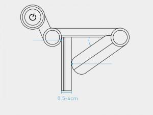 لامپ آویز صفحه نمایش بیسوس مدل i-Wok Screen Hanging Light DGIWK-01
