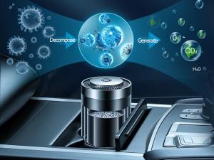 خوشبو کننده و تصفیه هوای خودرو بیسوس مدل Ripple Car Cup Holder Air Freshener SUXUN-BW01