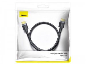 کابل HDMI بیسوس مدل Cafule 4K HDMI Male to 4K HDMI Male Adapter Cable CADKLF-E01 به طول 1 متر