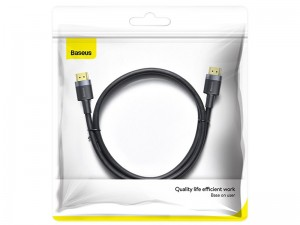 کابل HDMI بیسوس مدل Cafule 4K HDMI Male to 4K HDMI Male Adapter Cable CADKLF-F01 به طول 2 متر