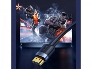 کابل HDMI بیسوس مدل Cafule 4K HDMI Male to 4K HDMI Male Adapter Cable CADKLF-G01 به طول 3 متر