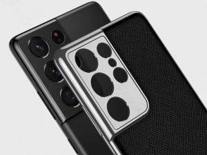کاور اورجینال لاکچری GKK مدل Luxury Leather Plating Case مناسب برای گوشی موبایل سامسونگ S20 Ultra