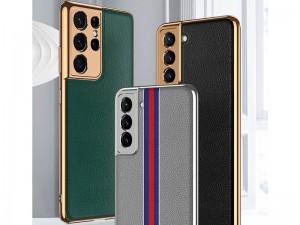 کاور اورجینال لاکچری GKK مدل Plain Leather Material مناسب برای گوشی موبایل سامسونگ S20 Ultra