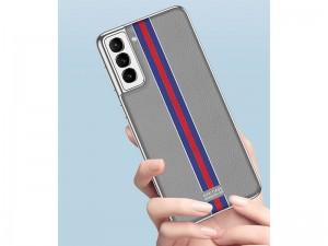 کاور اورجینال لاکچری GKK مدل Electroplated Plain Leather مناسب برای گوشی موبایل سامسونگ S21 Plus