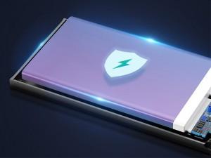 پاور بانک فست شارژ 10000 میلی آمپر بیسوس مدل Adaman Metal Digital Display PPIMDA-B0A