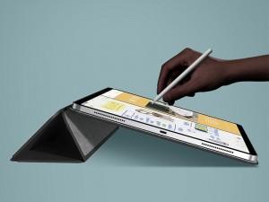 کیف آهنربایی تبلت بیسوس مدل Simplism Magnetic Leather Case LTAPIPD-GSM0J مناسب برای آیپد ایر 10.9 اینچی 2020