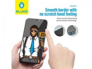 محافظ صفحه نمایش پرایوسی بلوئو مدل Privacy HD ANTI-PEEP Tempered Glass مناسب برای گوشی موبایل iPhone 12 /12 Pro