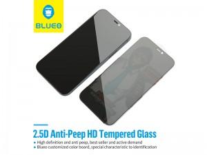 محافظ صفحه نمایش پرایوسی بلوئو مدل Privacy HD ANTI-PEEP Tempered Glass مناسب برای گوشی موبایل iPhone 12 mini