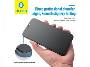 محافظ صفحه نمایش پرایوسی بلوئو مدل Privacy HD ANTI-PEEP Tempered Glass مناسب برای گوشی موبایل iPhone 12 Pro Max