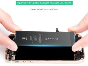 باتری موبایل بیسوس مدل ACCB-BIP6 با ظرفیت 2200mAh مناسب برای گوشی موبایل اپل iPhone 6