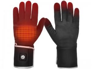 دستکش چرمی گرم شونده الکتریکی قابل شارژ BARCHI HEAT