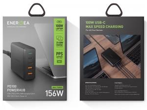هاب شارژر رومیزی فست شارژ انرژیا مدل PowerHub PD100