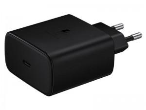 شارژر دیواری سوپر فست شارژ 45 وات اورجینال سامسونگ مدل EP-TA845 بهمراه کابل دو سر تایپ سی