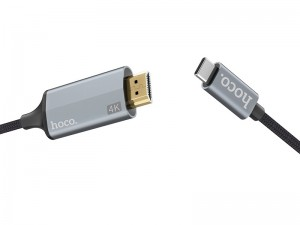 کابل تبدیل Type-C به HDMI هوکو مدل UA13 به طول 1.8 متر