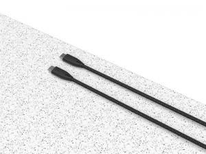 کابل فست شارژ دو سر تایپ سی پاورولوژی مدل PBCC2BK به طول 2 متر