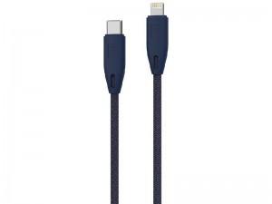 کابل فست شارژ تایپ سی به لایتنینگ پاورولوژی مدل PCAB002 به طول 2 متر