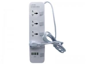 چند راهی برق الدینیو مدل SE4408 (دارای 4 پورت USB)
