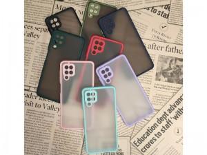 کاور پشت مات دور رنگی مناسب برای گوشی موبایل سامسونگ A12