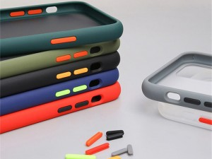 کاور پشت مات دور رنگی مناسب برای گوشی موبایل سامسونگ A72