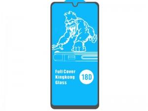 محافظ صفحه نمایش ایربگ دار آرمور مدل Full Cover Kingkong Glass مناسب برای گوشی موبايل سامسونگ A42