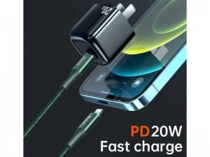 کابل شارژ سریع Type-C به Lightning مک دودو مدل CA-9960 به طول 1.2 متر و توان 20 وات