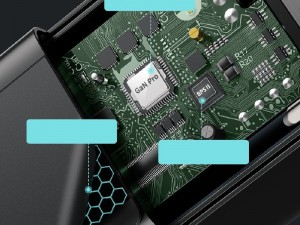 شارژر دیواری فست شارژ 65 وات بیسوس مدل GaN2 Pro CCGAN2P-B01 بهمراه کابل دو سر تایپ سی