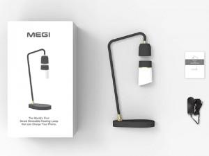 چراغ مطالعه شناور مدل MEGI با قابلیت شارژ وایرلس و فرمانپذیری صوتی