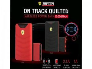 پاور بانک 10000 میلی آمپر وایرلس سی جی موبایل فراری مدل Scuderia Ferrari